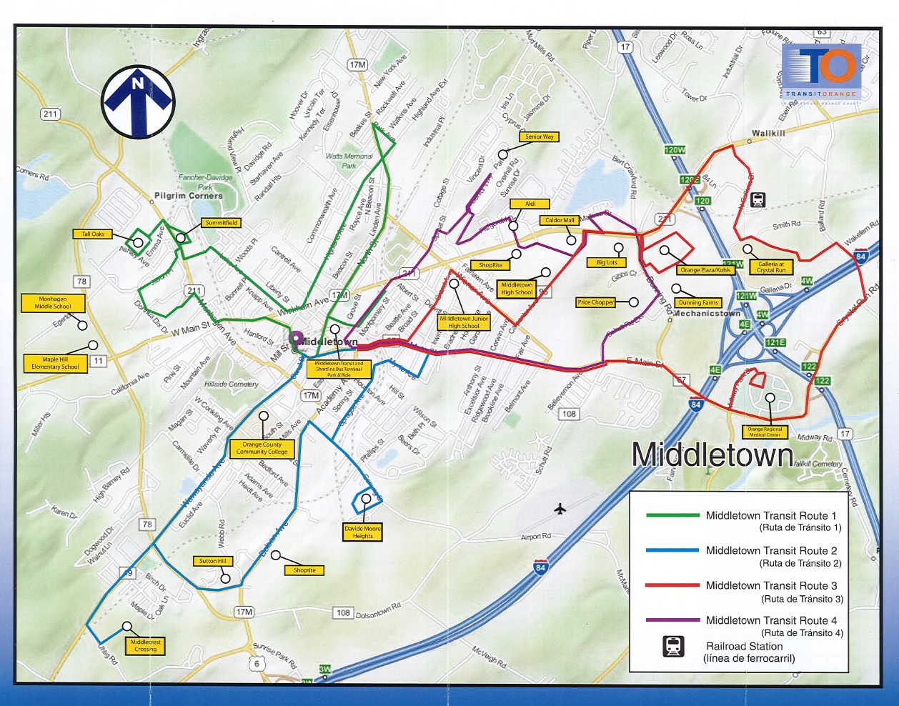 Bus Schedule Map