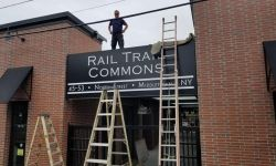 The 2019 Sign Installations at Rail Trail Commons